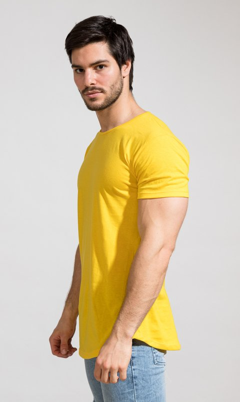 Maxi tshirt - yellow