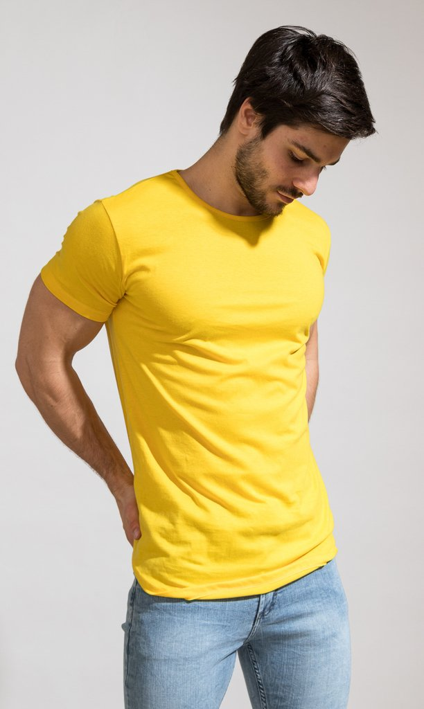 Brooklyn tshirt - yellow - Mohammed