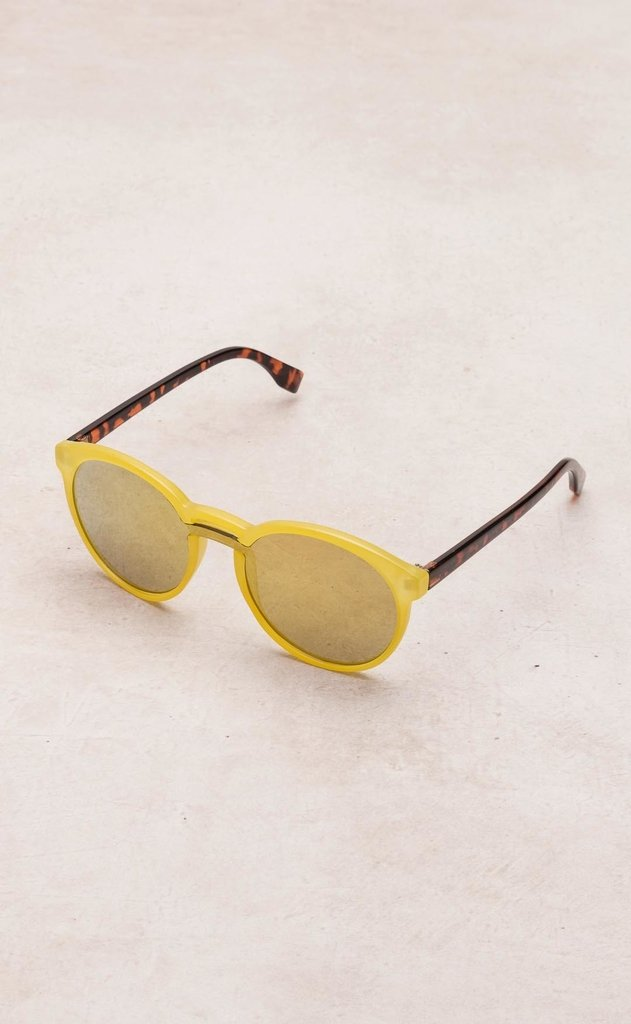 Mohammed lenses - 9575CM - yellow frame