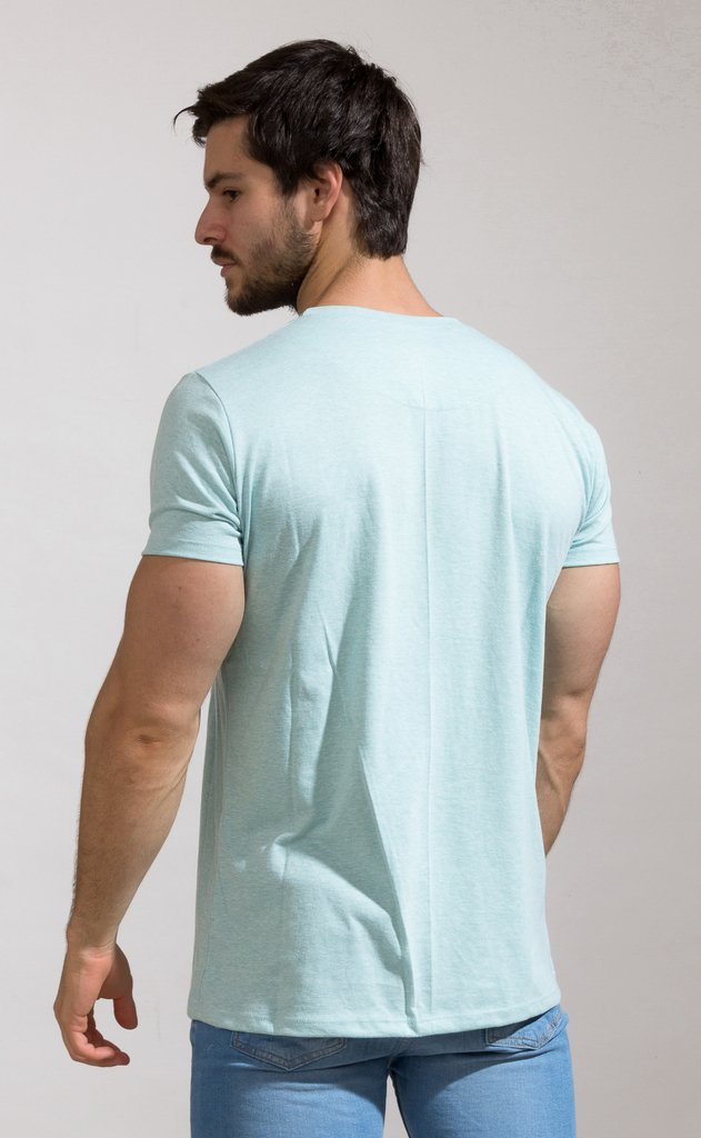 Brooklyn tshirt - aqua en internet