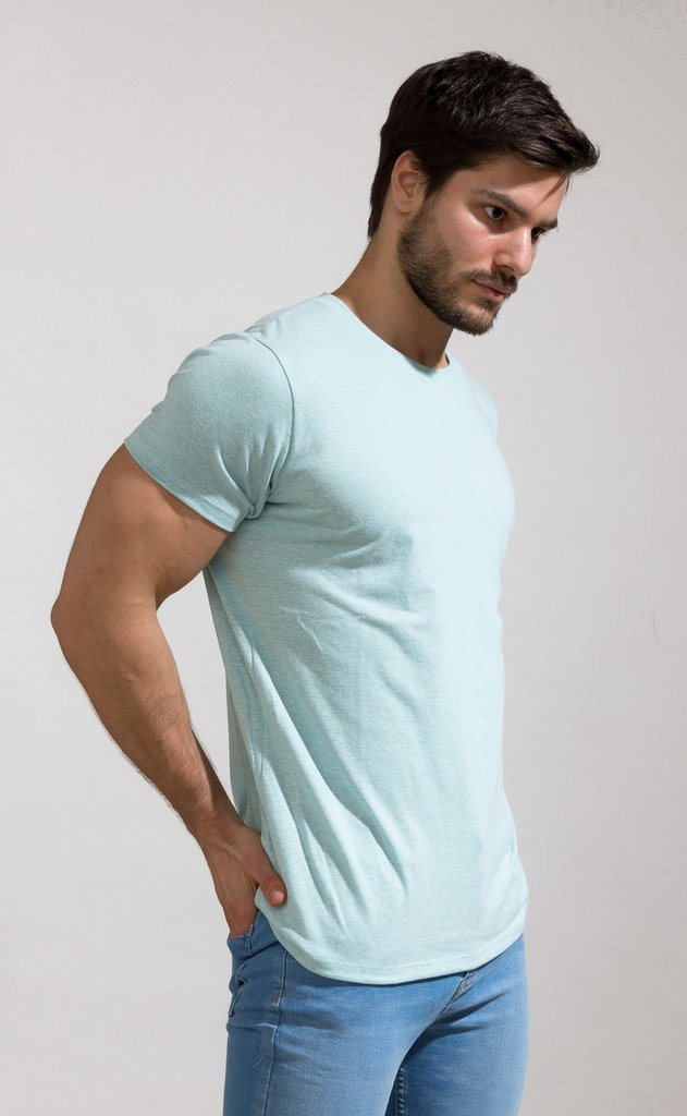 Brooklyn tshirt - aqua