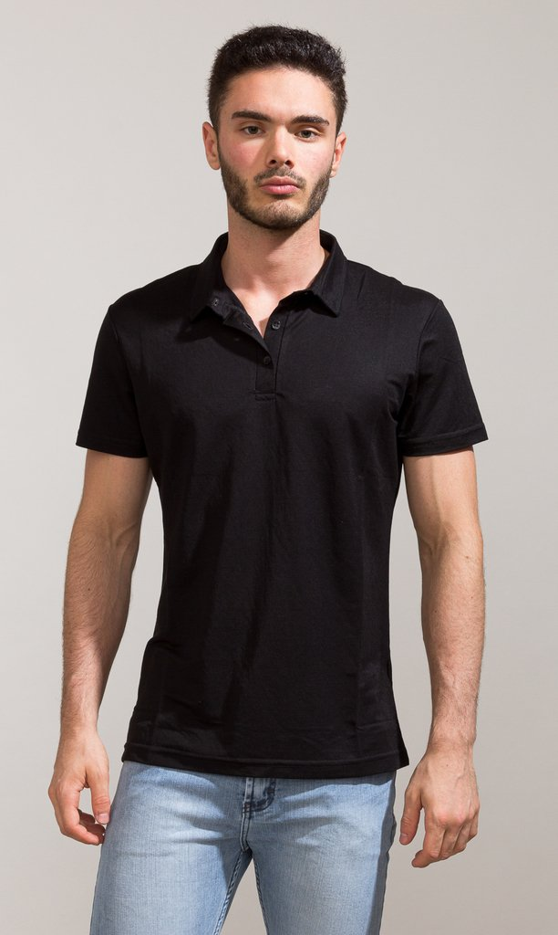 Polo shirt - Black - Harvey & Willys - comprar online