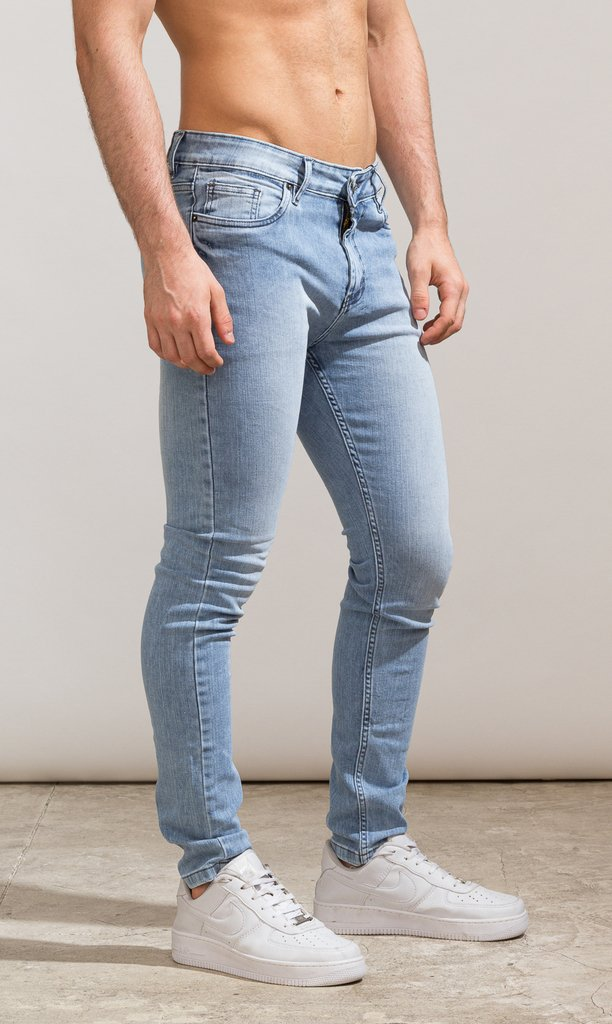 Skinny Jeans - Classic light blue - Harvey & Willys