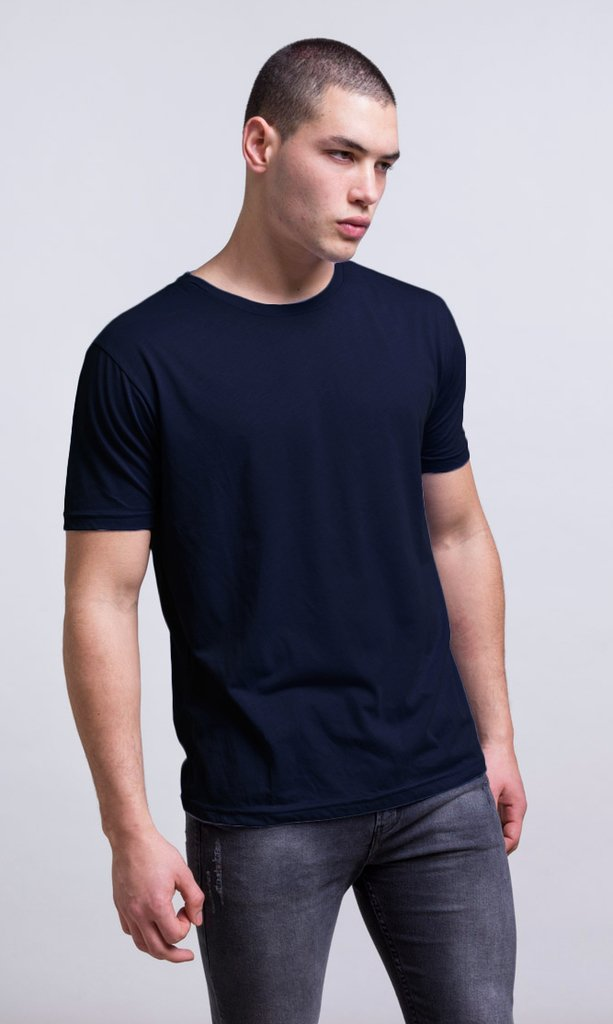 Basic tshirt - Regular fit - navy - buy online