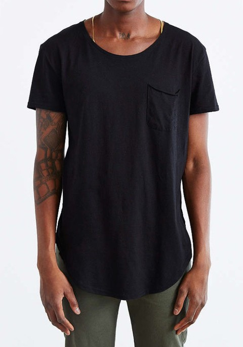 Box Cut Tshirt - Black