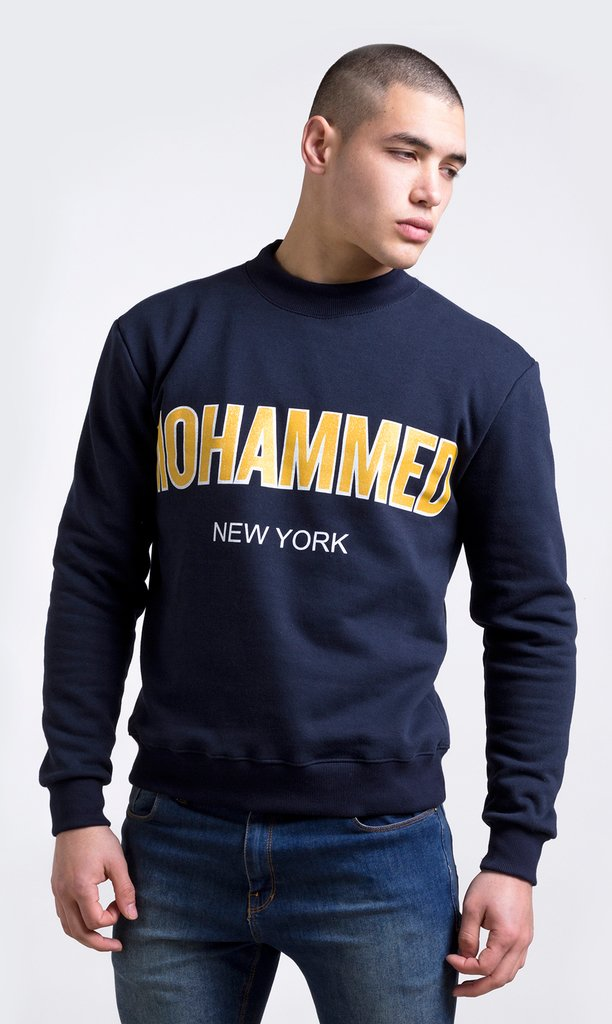 Mohammed New York Vintage Sweatshirt - thin
