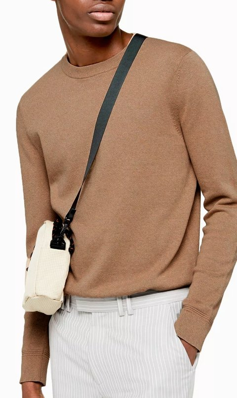 Thin pullover - Toffee