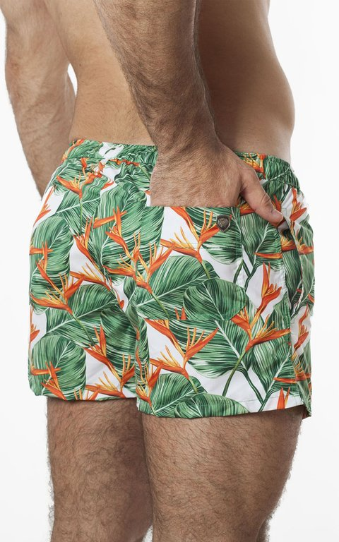 Bird flower swimshort