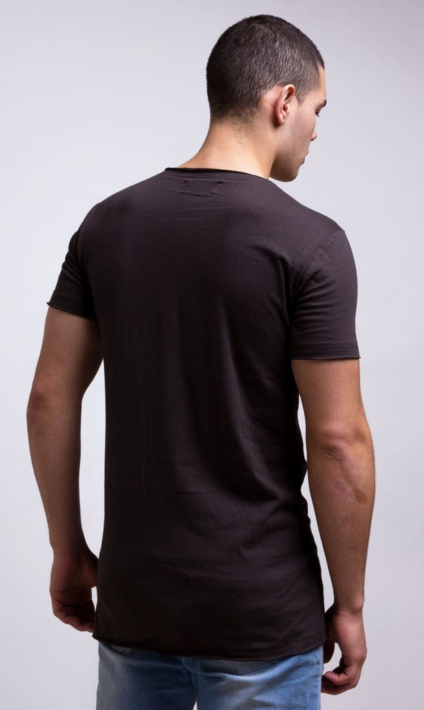 Maxi Tshirt Rustic - Dark grey on internet