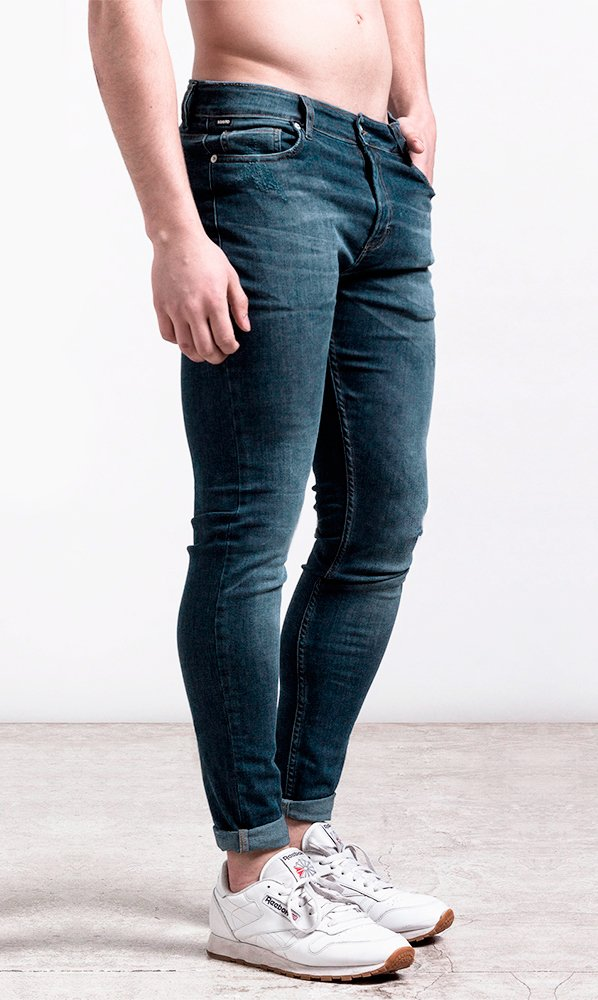 Skinny Jean #251 - Light blue tinted