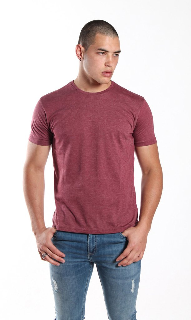 Brooklyn tshirt - Wine - buy online