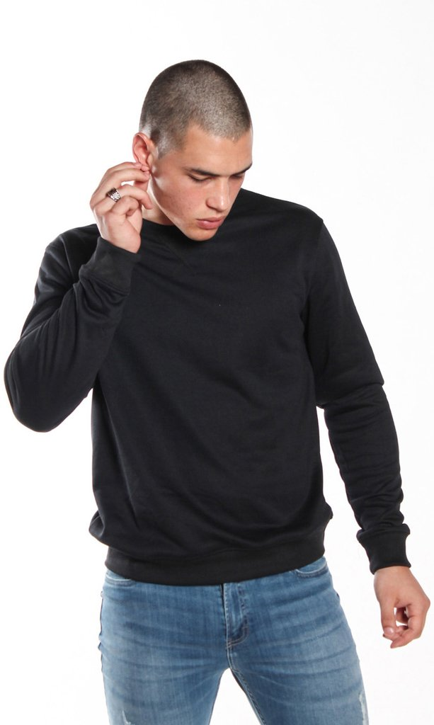 Thin sweatshirt - Black - Mohammed