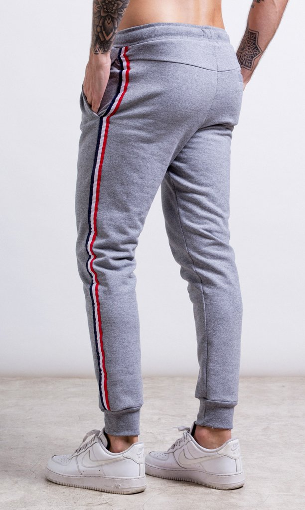 Stripes Jogger - Red & Blue - comprar online