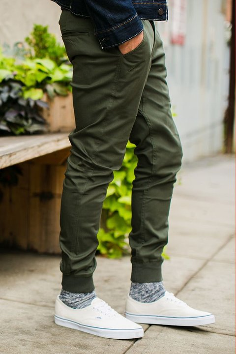 Mohammed Gabe Skinny Jogger - Army - comprar online