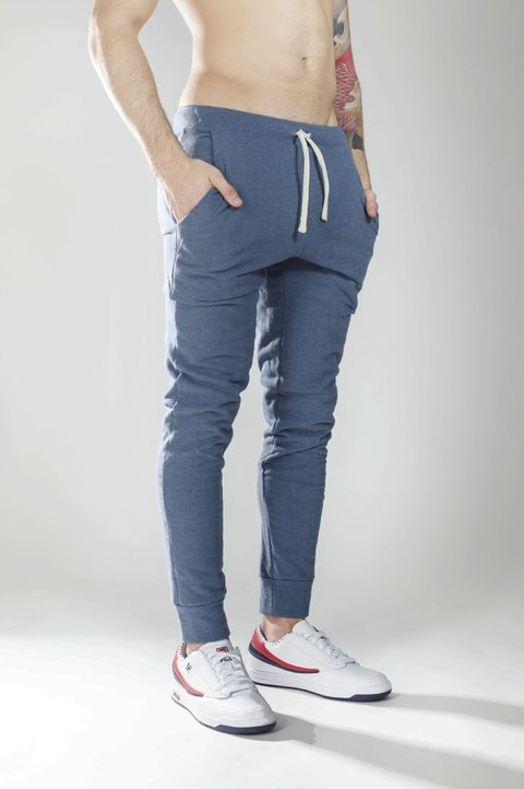 Mohammed Skinny Jogger - light Blue