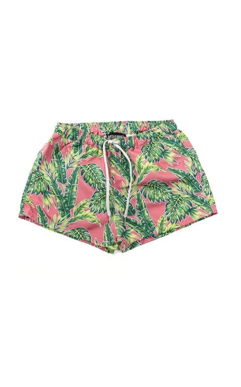 Pink jungle swimshort - comprar online