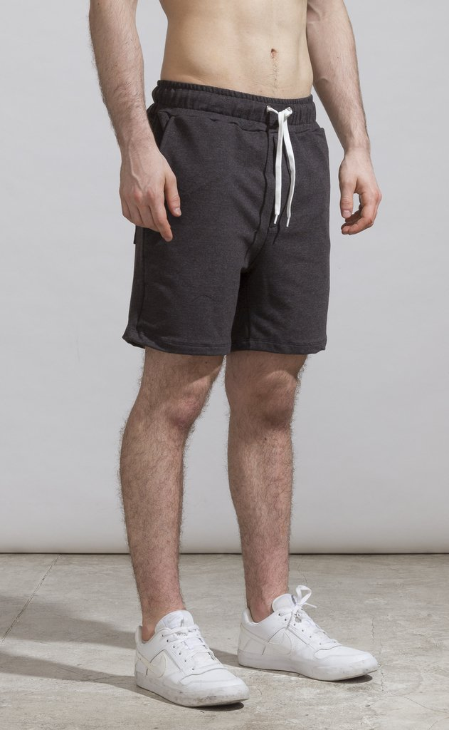 Cotton bermudas - Dark grey