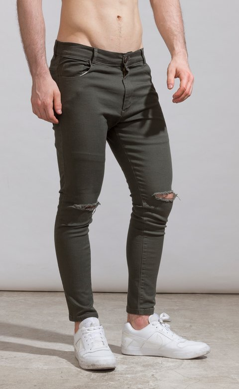 Skinny gabe pants - army cuts