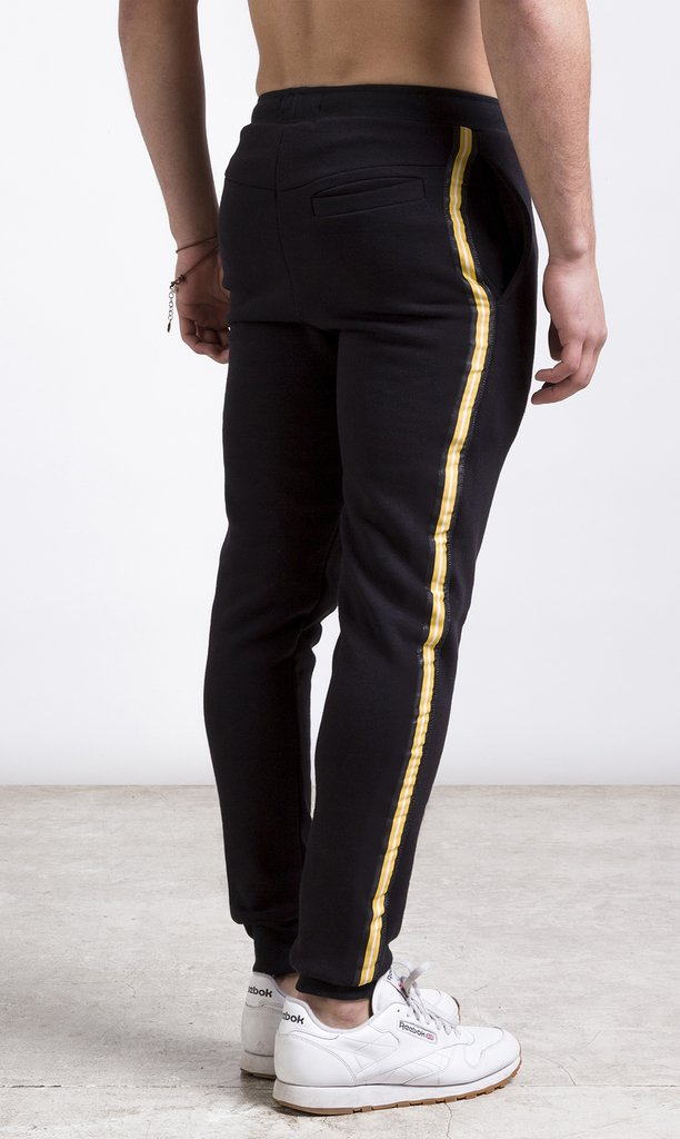Mohammed Stripes Jogger - Yellow en internet