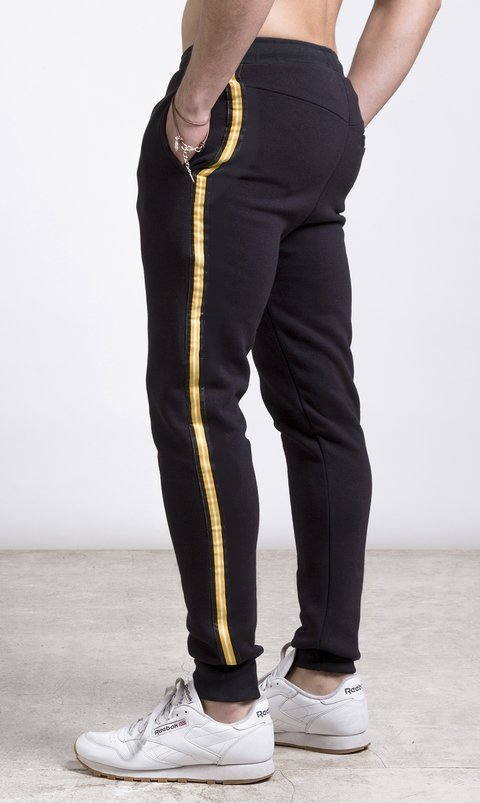 Mohammed Stripes Jogger - Yellow - comprar online