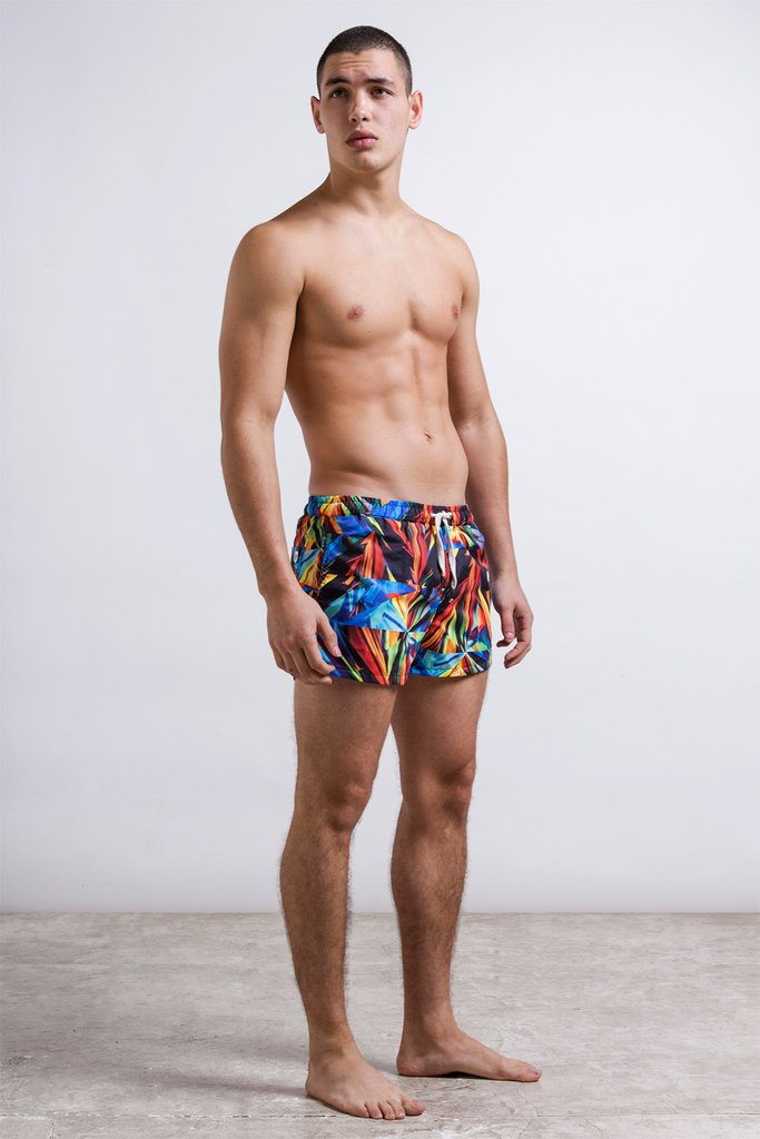 Crystal shades swimshort on internet