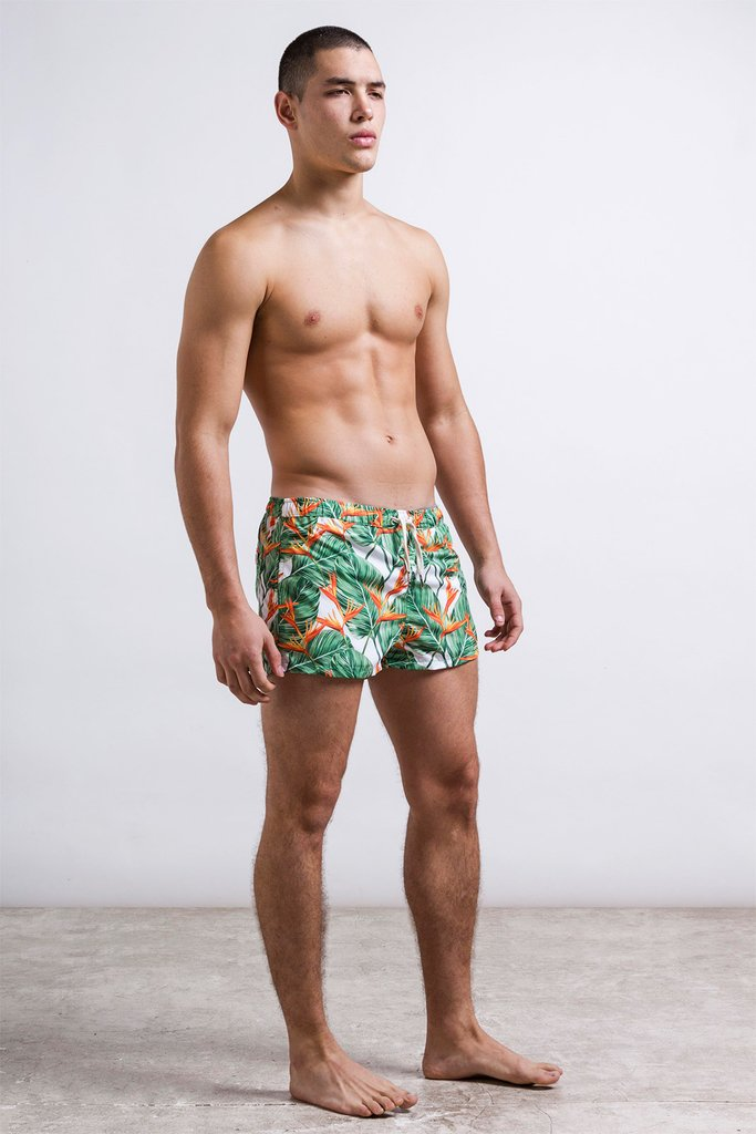 Bird flower swimshort -  Short cut - comprar online