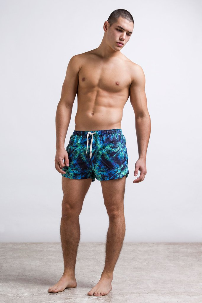 Blue palms - Short Trunk en internet