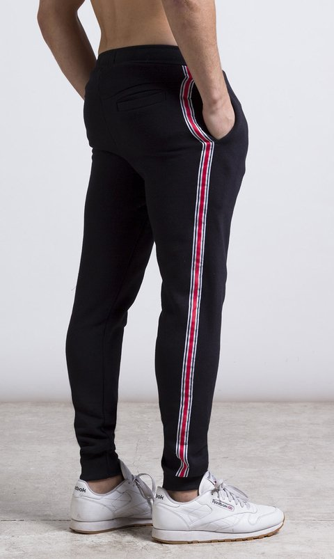 Stripes Jogger - Red & Green (copia)