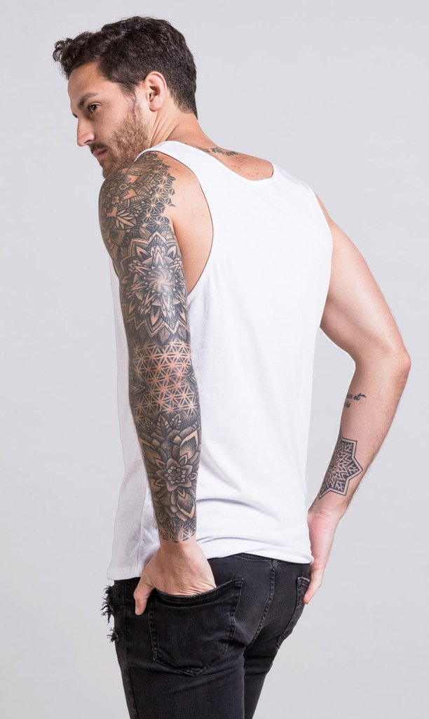 Basic Tanktop - White en internet