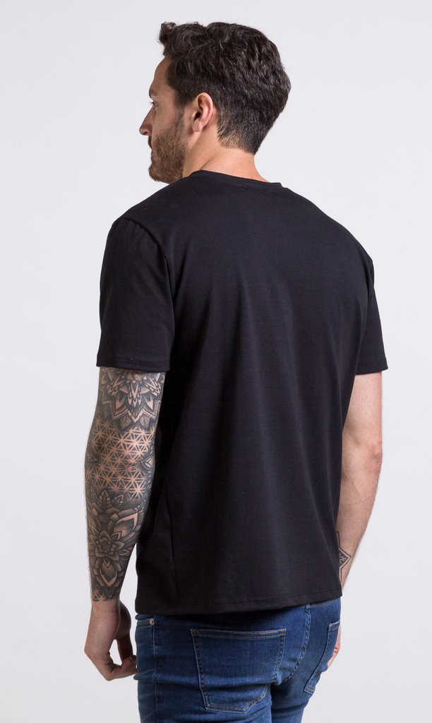 Regular tshirt - black - comprar online