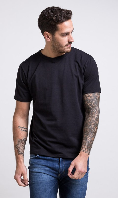 Regular tshirt - black