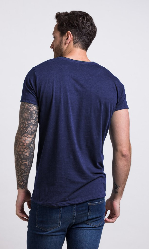 Brooklyn Tshirt - Blue - buy online