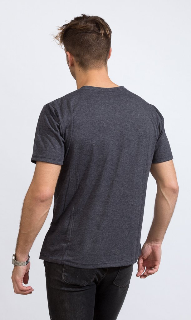 Basic tshirt - Regular fit - Dark Grey - comprar online