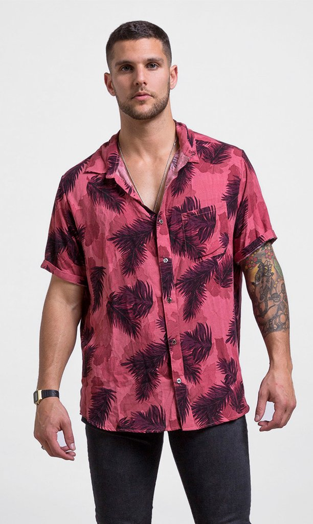Red paradiso shirt