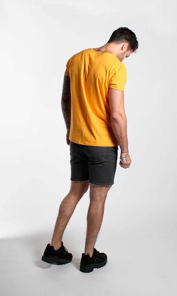 Brooklyn Tshirt - Yellow - comprar online