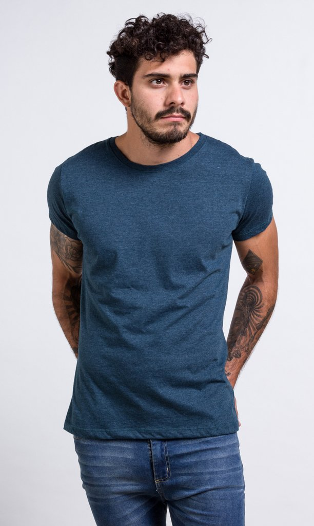 Brooklyn tshirt - dark turquoise on internet