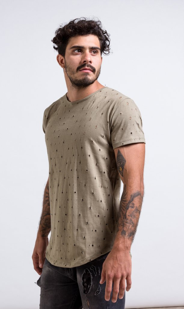 Maxi Tshirt - army holes on internet