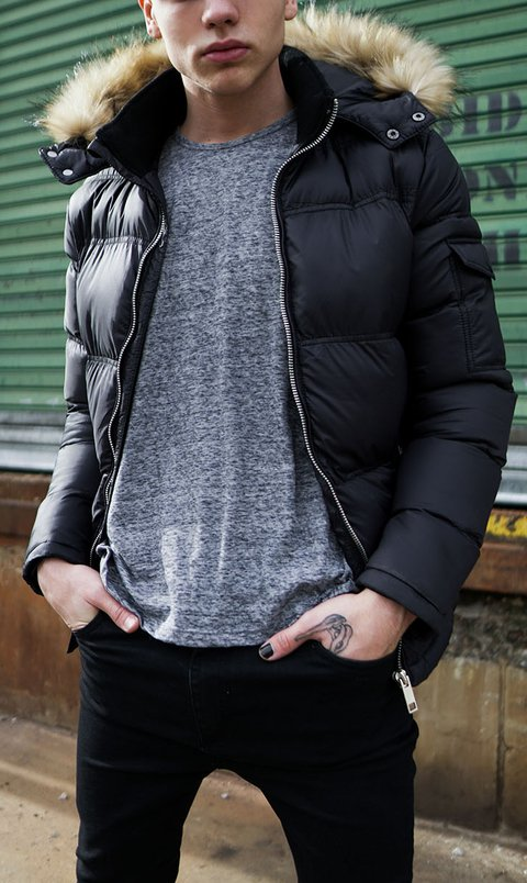 Puffy Jacket - Black
