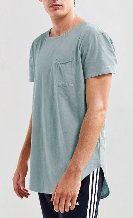 Box cut tshirt - light blue - comprar online