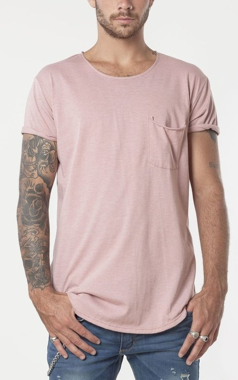Box cut tshirt - pink