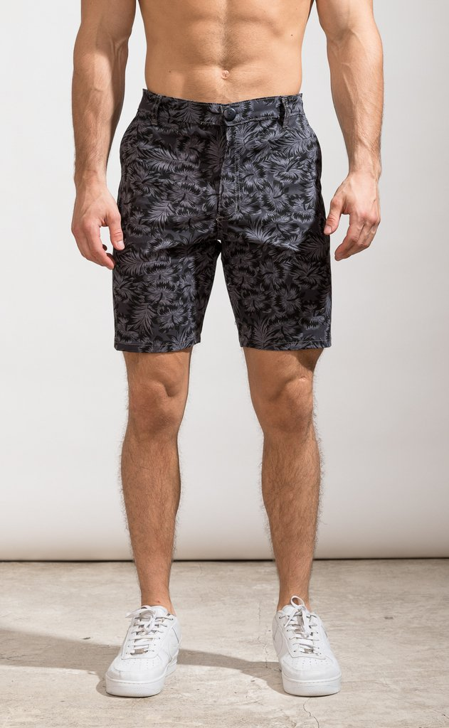 Swamp flower bermudas - Skinny fit