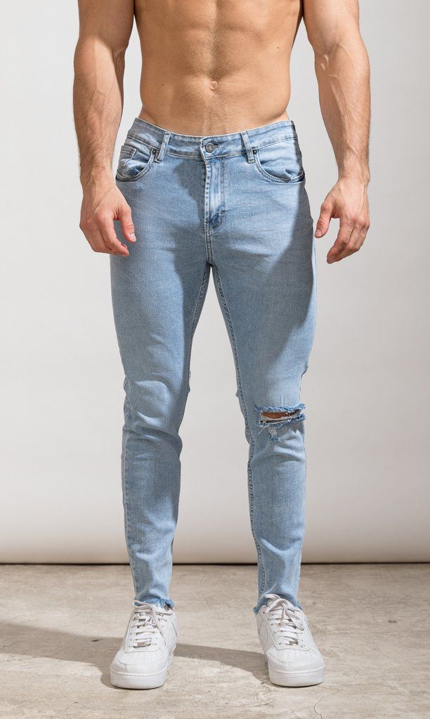 Skinny Jeans - Light blue cut - Harvey & Willys - buy online