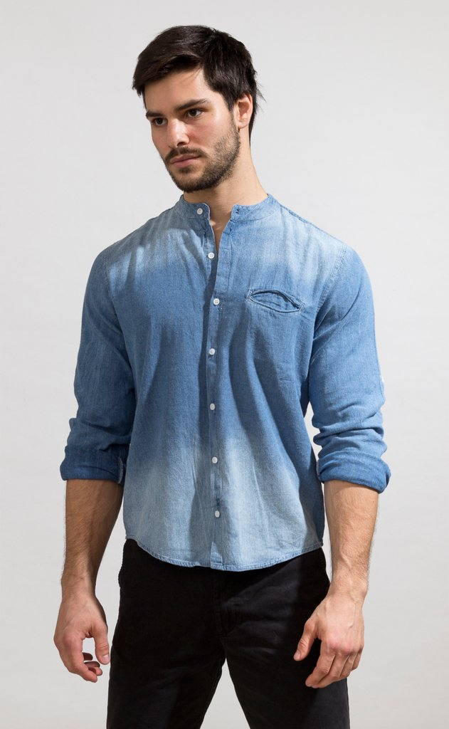 Denim shirt - Mao ho chi minh en internet