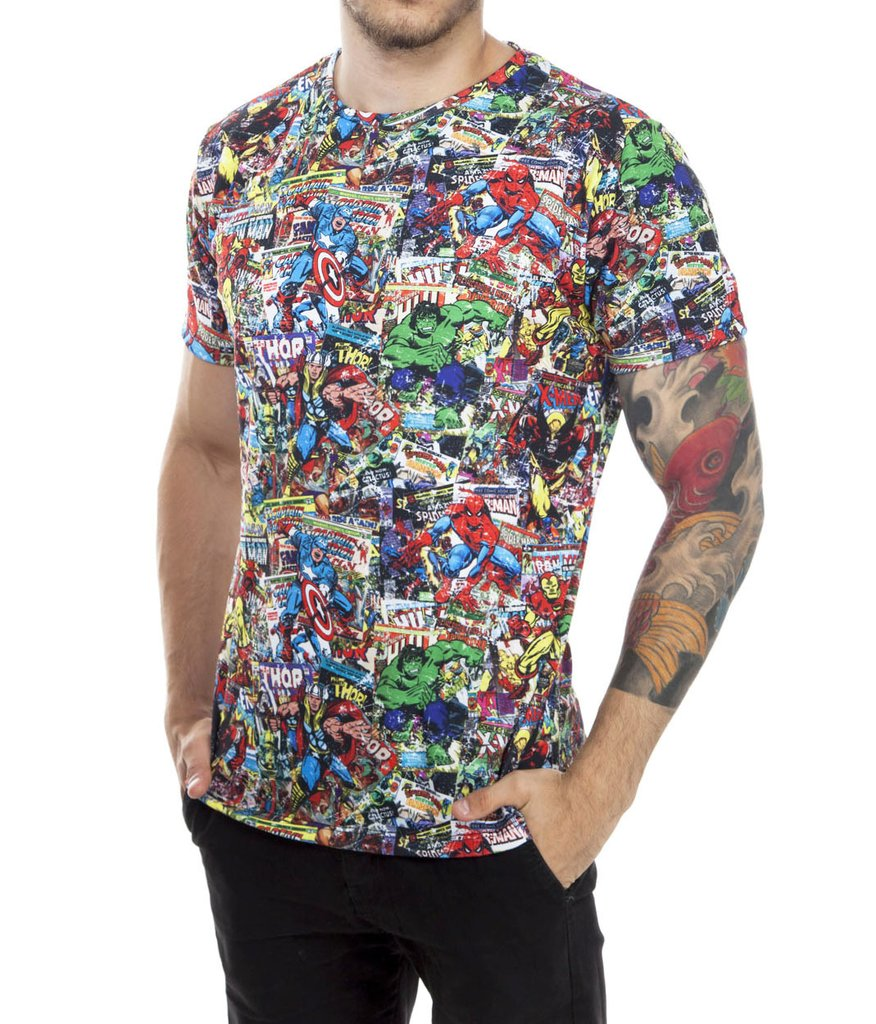 Super Heroes  tshirt - Slim fit