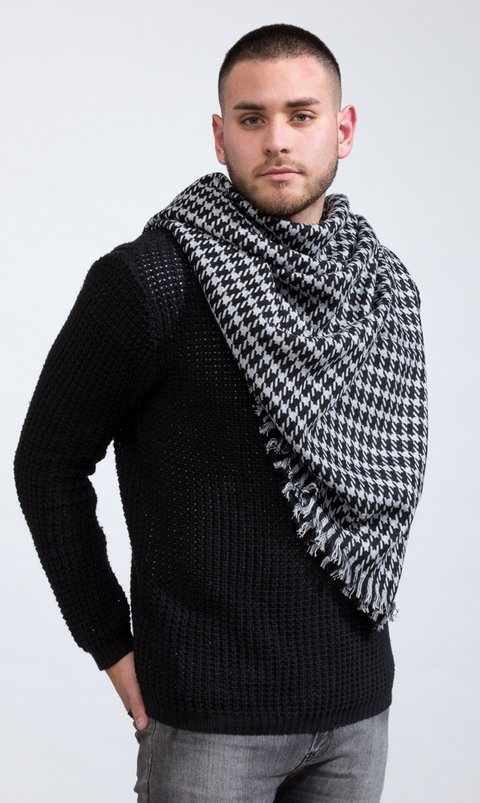 Seamless BIG Scarf - chekers