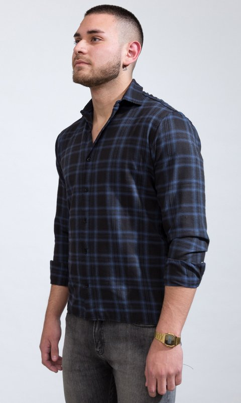 Lumberjack shirt -Blue