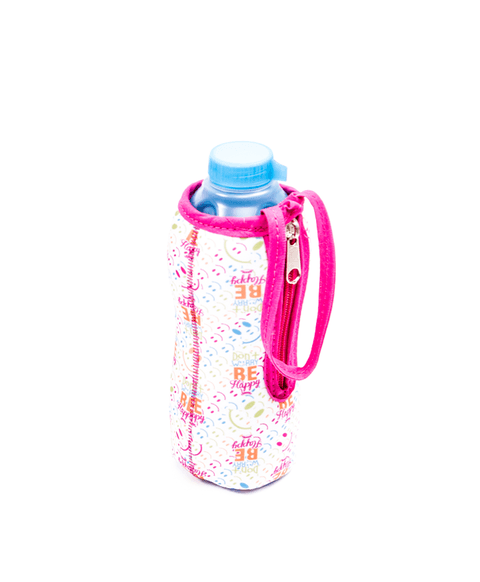 Botella con funda Smile Color