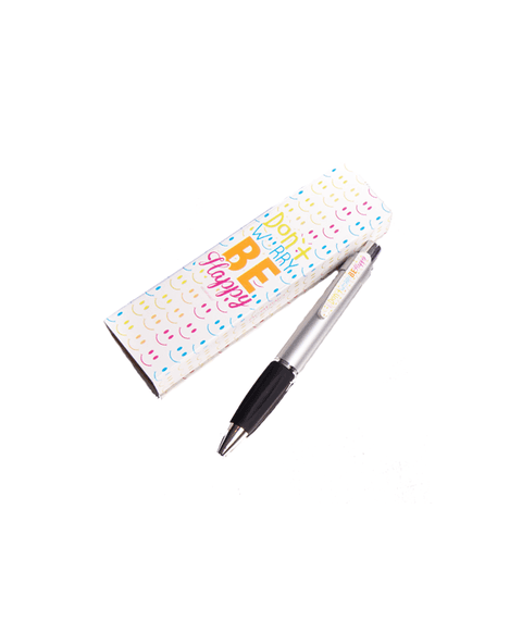 Lapicera con estuche Smile Color