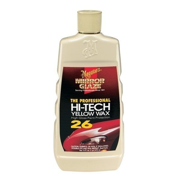 Meguiars Yellow Hi Tech Wax - Liquida 473ml
