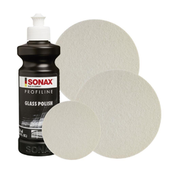 Sonax Profiline Glass Polish - Kit Polimento de Vidros 250ML